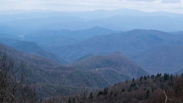 PHOTO: Layers of blue mountains on the Appalachian Trail.  (STOCK PHOTO/Getty Images)