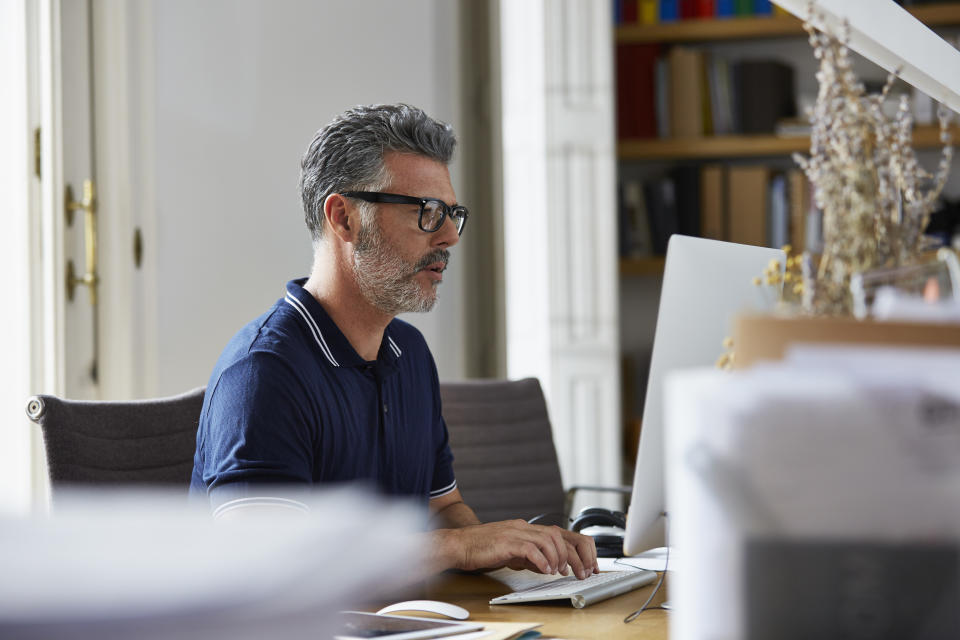 Use a public computer? Be sure to clear your browser history each time. (Photo: Getty)