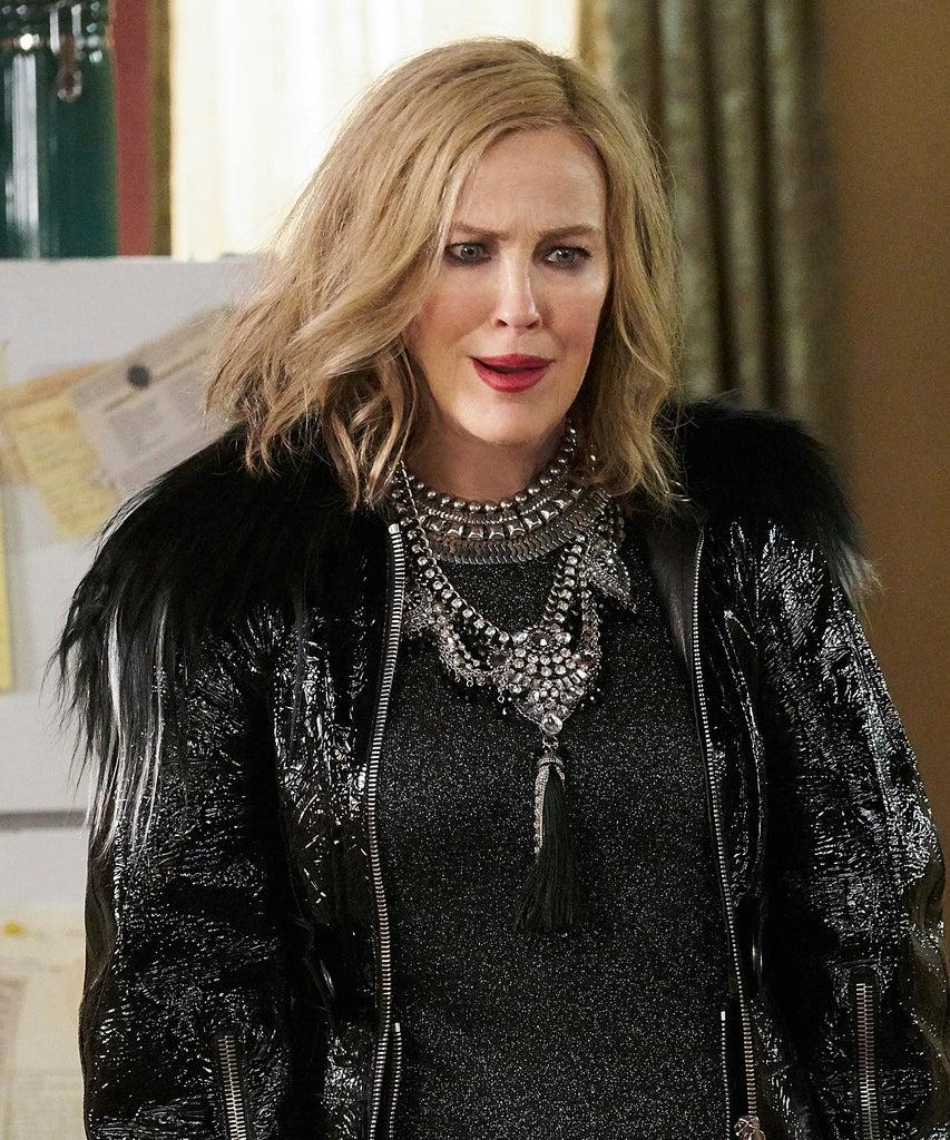 Editorial use only. No book cover usage. Mandatory Credit: Photo by Ian Watson/CBC/ITV/Kobal/Shutterstock (10330943z) Catherine O'Hara as Moira Rose 'Schitt's Creek' TV Show Season 5 – 2019 When rich video-store magnate Johnny Rose and his family suddenly find themselves broke, they are forced to leave their pampered lives to regroup in Schitt's Creek.