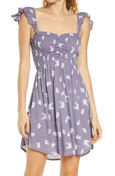 <p>This <span>Tiare Hawaii Hollie Off the Shoulder Cover-Up Dress</span> ($98) is an easygoing choice you'll reach for often.</p>