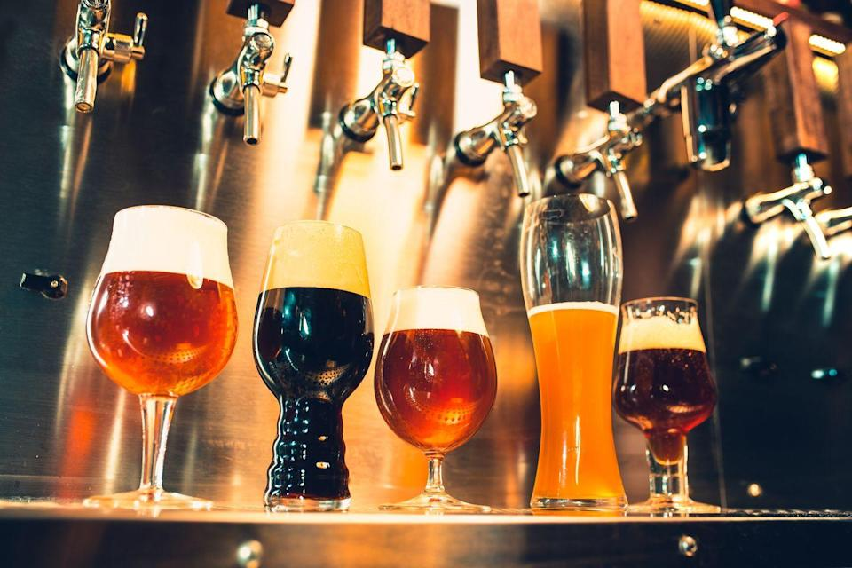 <p>Getting lightly boozy as you sample a bunch of merlots or craft beers—what's not to love? Just make sure to check with your state's safety guidelines re: whether or not tours are still happening. And, again, mask up, ya'll. </p>