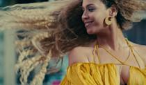 <p>Long crimped waves complement a happy moment before she breaks everything.<br></p>