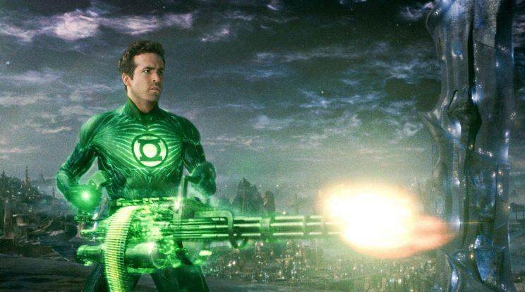 Disaster... Green Lantern made Reynolds 'un-hireable' - Credit: Warner Bros