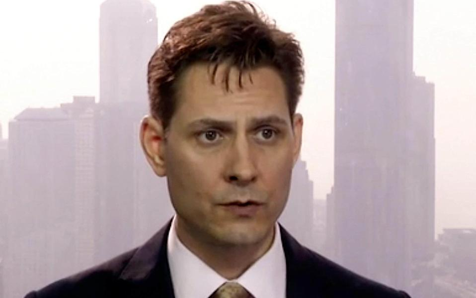 Michael Kovrig is one of two Canadians who have been held prisoner in China since 2018 - Canada China Letter/AP