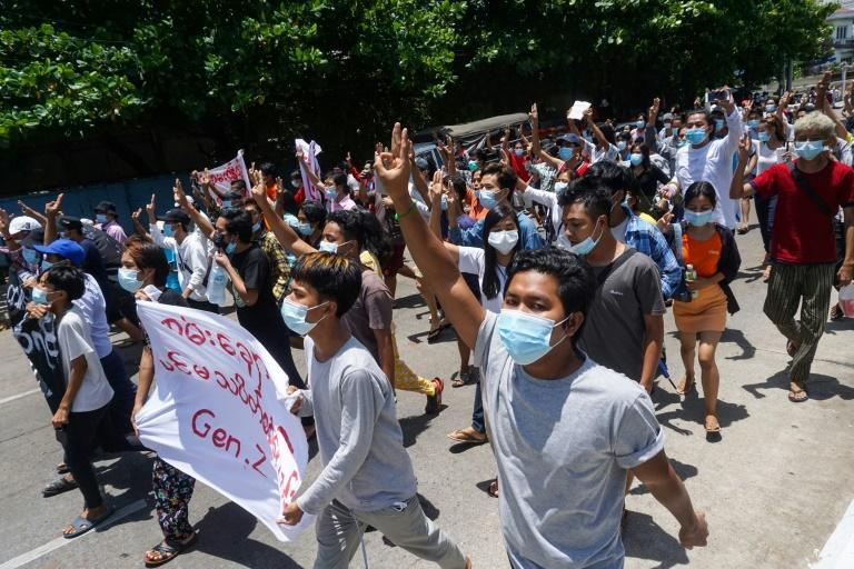 The Myanmar junta's coup sparked furious and widespread opposition