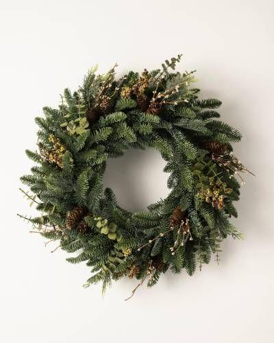 "<p><strong>Write a Review</strong></p><p>balsamhill.com</p><p><strong>$119.00</strong></p><p><a href=""https://www.balsamhill.com/p/mountain-meadow-artificial-christmas-wreath-garland-foliage"" rel=""nofollow noopener"" target=""_blank"" data-ylk=""slk:Shop Now"" class=""link rapid-noclick-resp"">Shop Now</a></p><p>Your <a href=""https://www.elledecor.com/design-decorate/house-interiors/news/a9296/mountain-house/"" rel=""nofollow noopener"" target=""_blank"" data-ylk=""slk:mountain home"" class=""link rapid-noclick-resp"">mountain home</a> won't be complete without this Christmas wreath.</p>"
