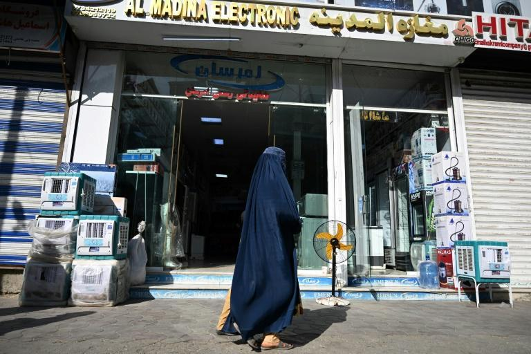 Kabul residents are converned over the country's grave economic woes (AFP/Aamir QURESHI)