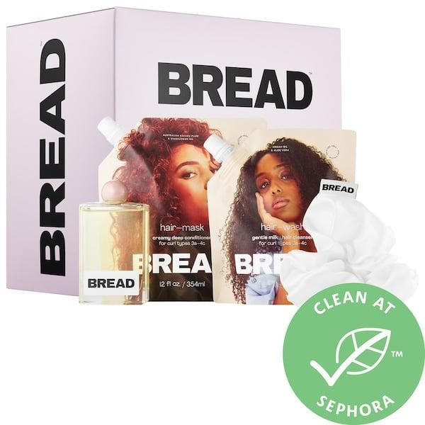 <p>If your friend or family member's wash day products are getting low, consider getting them the <span>Bread Beauty Supply Wash-Day Essentials Kit</span> ($58), which comes with a cleanser, a conditioner, a finishing oil, and a scrunchie.</p>