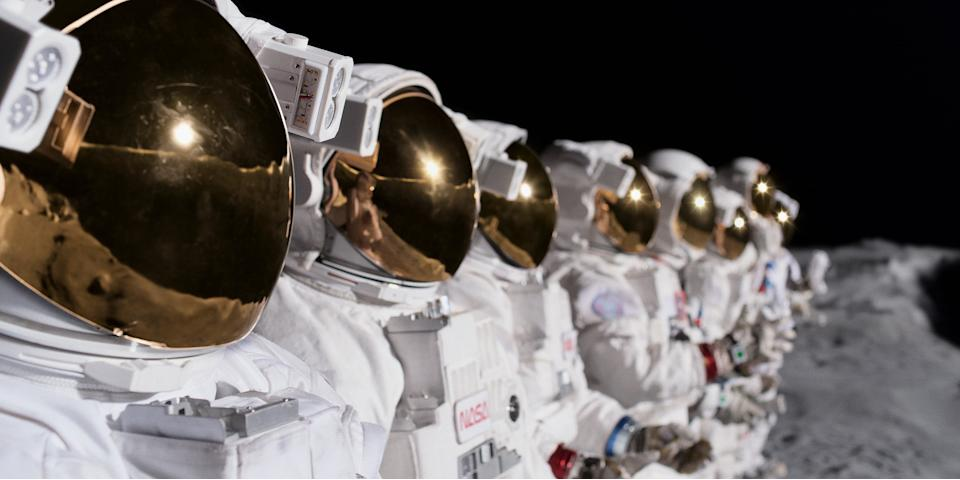Image of astronauts in For All Mankind TV show Apple TV+