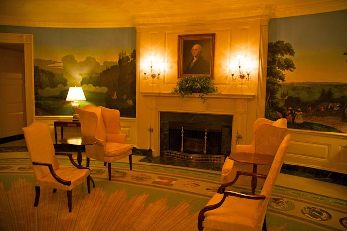 The Diplomatic Reception Room