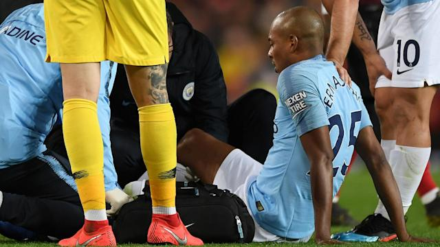 The midfielder is set to have a scan on the injury he suffered in the derby win over United