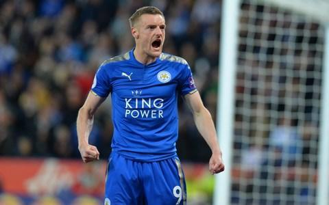 <span>Jamie Vardy finished the season with 20 league goals</span> <span>Credit: Getty Images </span>