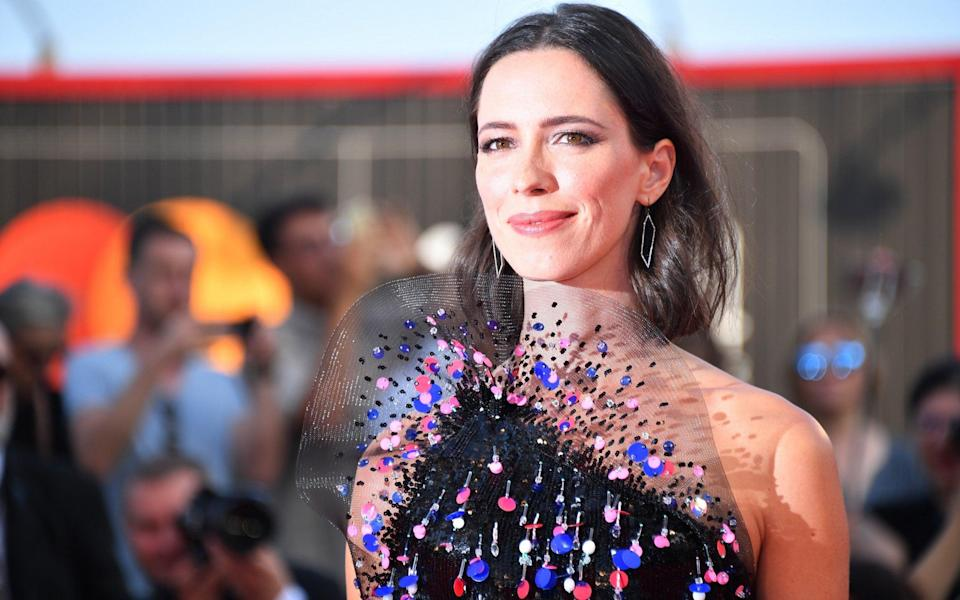 Rebecca Hall said she would not work with Woody Allen again - WireImage