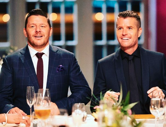 Pete is a judge on MKR, where his expertise - cooking - is on display. photo: Instagram/chefpeteevans