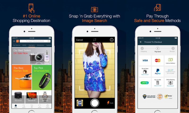 Lazada, app, moving house, furniture, home living, homeowners, apps