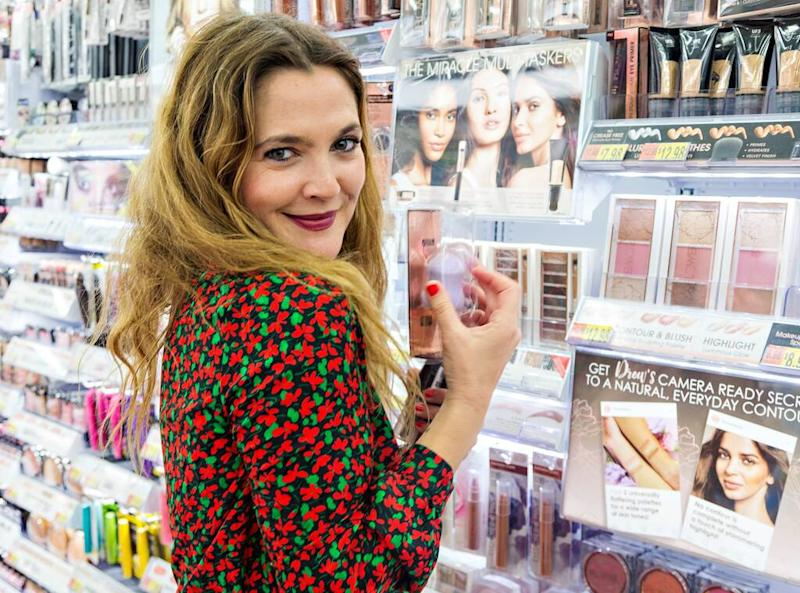 Stars with makeup collections - Drew Barrymore