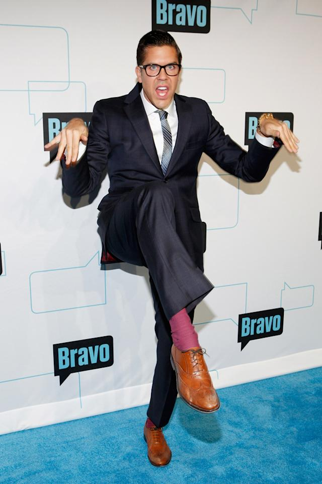 Fredrik Eklund attends Bravo's 2012 Upfront Event at Center 548 on April 4, 2012 in New York City.