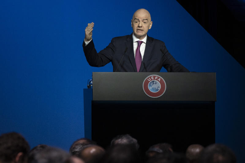 FIFA damage 'irreversible' over investigation into Infantino