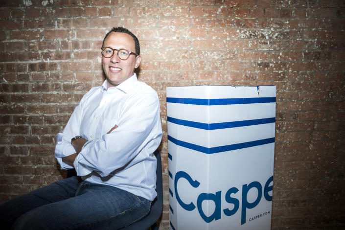 NEW YORK CITY, USA — AUGUST 02: Philip Krim, Co-Founder and CEO of Casper, poses for a portrait on August 2, 2017 in New York City. Casper is a popular direct-to-consumer mattress company. (Photo by Benjamin Lowy/Getty Images)