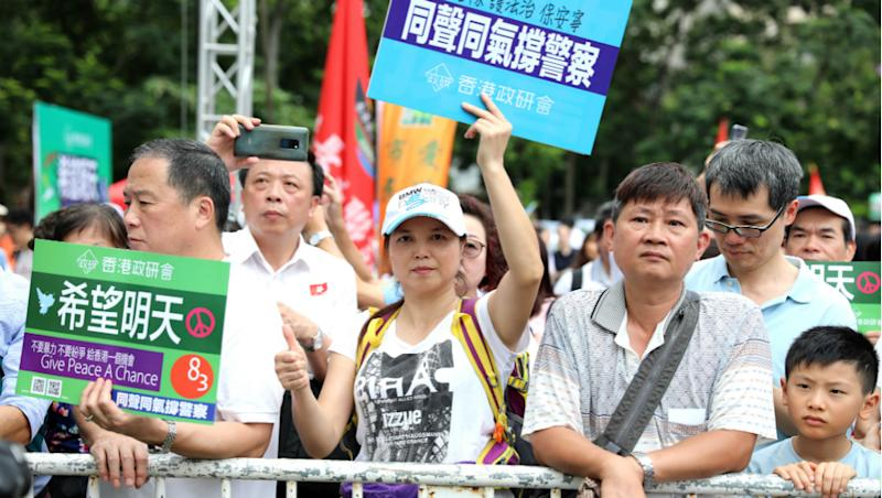 Hundreds of Pro-Democracy Protesters Stage New Rally at Hong Kong Airport