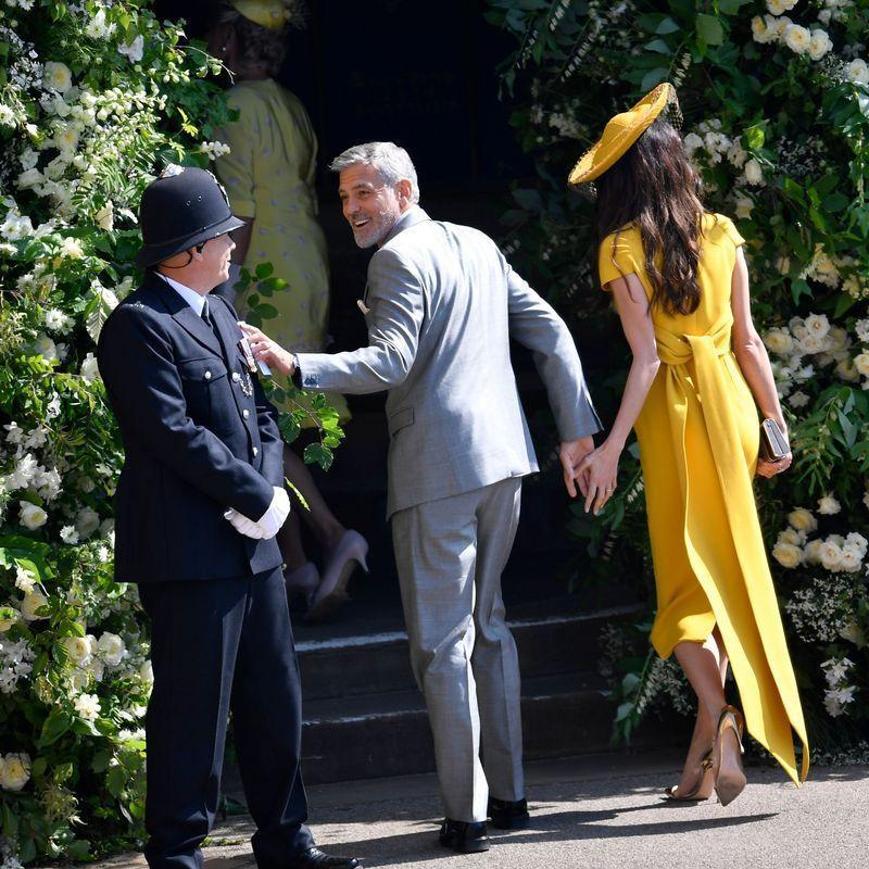"""<p>Most of the protocol is in place for safety purposes. Since the royal family's <a href=""""https://www.youtube.com/watch?v=5-Bo4Ddkj5o&feature=youtu.be"""" rel=""""nofollow noopener"""" target=""""_blank"""" data-ylk=""""slk:security detail has a big job"""" class=""""link rapid-noclick-resp"""">security detail has a big job</a> to do, it's best to keep jokes to yourself when you're in the vicinity of the royal protective unit. </p>"""