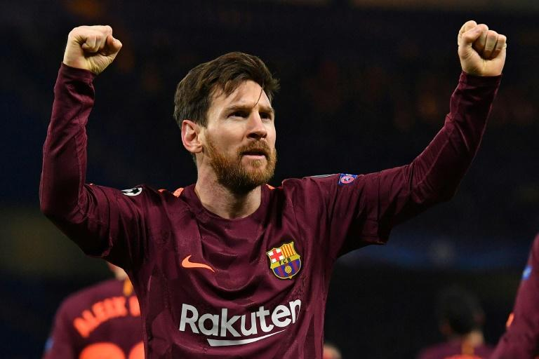 Lionel Messi ended his Chelsea hoodoo to give Barcelona the edge in their tie