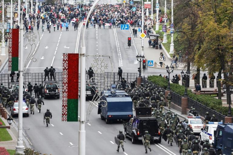 Opposition demonstrations have been taking place in Belarus since a disputed August electon