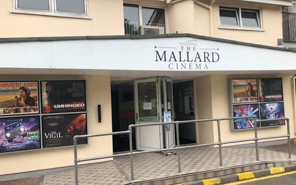 At the Mallard Cinema, only the lack of new releases would alert you to Covid's effects - Mallard Cinema