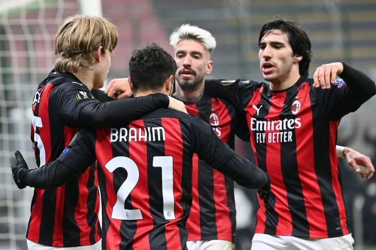 AC Milan are five points clear at the top of Serie A