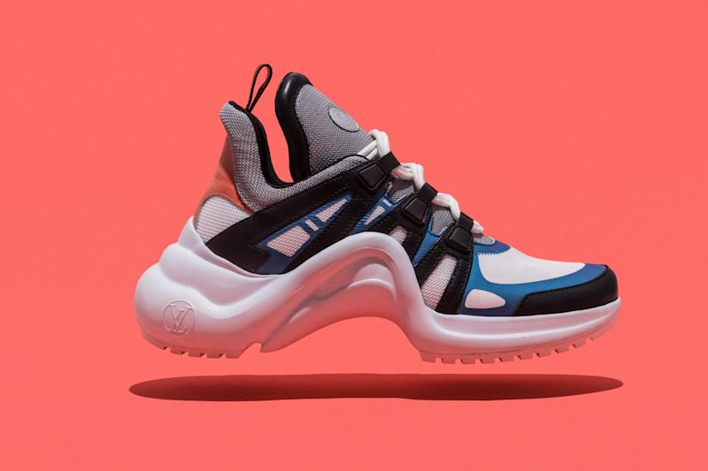 ef87c1c24f2 View photos. Louis Vuitton s Archlight Sneakers Are This Season s Must-Have  Designer Kicks