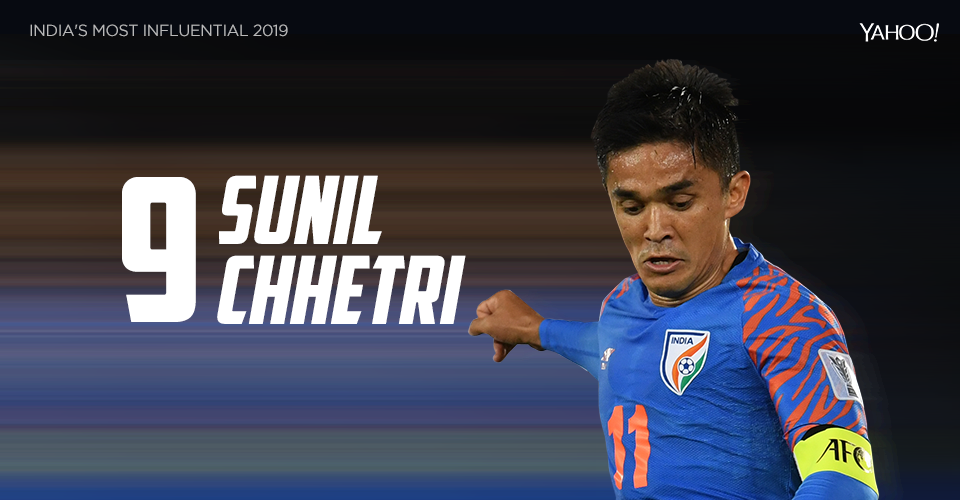Popularly known as 'Captain Fantastic', Chhetri became the second-highest active international goal scorer in the world, behind only to Cristiano Ronaldo. His urging of Indian fans to attend matches at stadia almost unleashed a revolution on social media. For all this, and for being the visible face of Indian football, Chhetri won the prestigious Padma Shri this year.