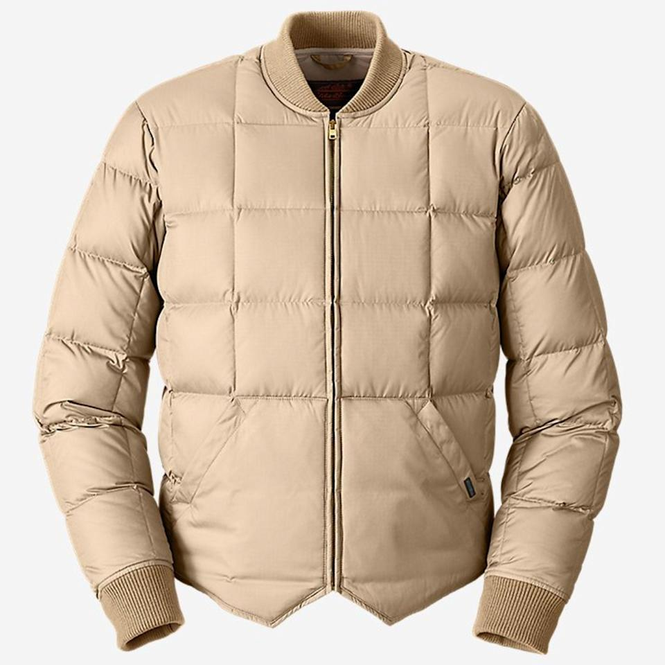 """<p><strong>Eddie Bauer</strong></p><p>eddiebauer.com</p><p><strong>$299.00</strong></p><p><a href=""""https://go.redirectingat.com?id=74968X1596630&url=https%3A%2F%2Fwww.eddiebauer.com%2Fp%2FH4000034%3Fcolor%3DTan&sref=https%3A%2F%2Fwww.esquire.com%2Fstyle%2Fmens-fashion%2Fg34601477%2Fbest-new-menswear-november-14-2020%2F"""" rel=""""nofollow noopener"""" target=""""_blank"""" data-ylk=""""slk:Buy"""" class=""""link rapid-noclick-resp"""">Buy</a></p>"""