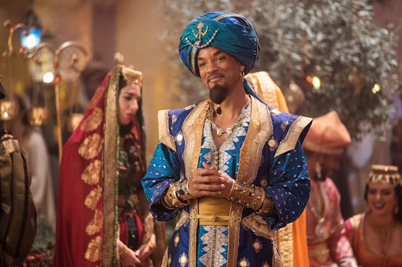 """Will Smith takes over Robin Williams' iconic Genie role in Disney's live-action """"Aladdin."""""""