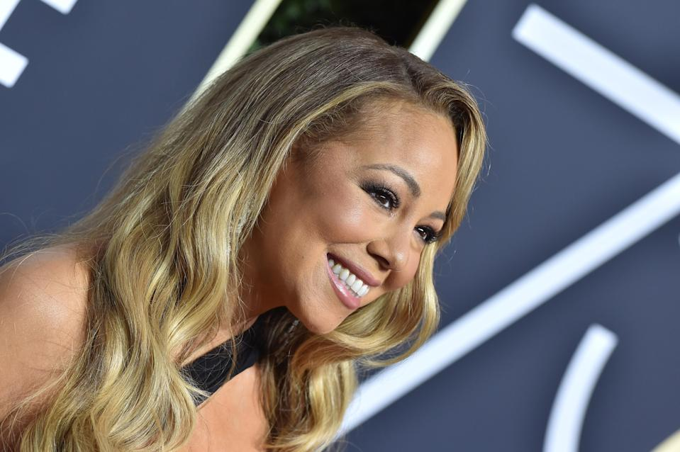 Mariah Carey spoke about her unconventional bathing methods in a recent interview. [Photo: Getty]