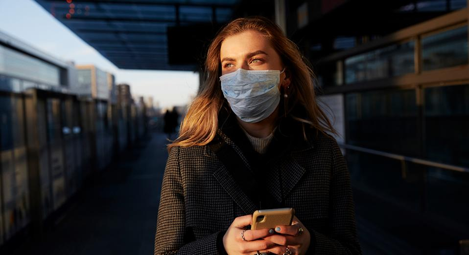 Face masks with matching scrunchies are available to buy on Etsy as face coverings become mandatory as of July 24.  (Getty Images)