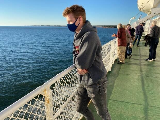 Masks will be mandatory on the ferries again this year. (Sophie Hayes - image credit)
