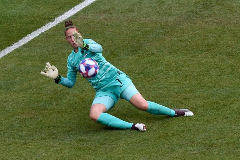 Sari van Veenendaal's fine display on Sunday was one of many from goalkeepers at the women's World Cup