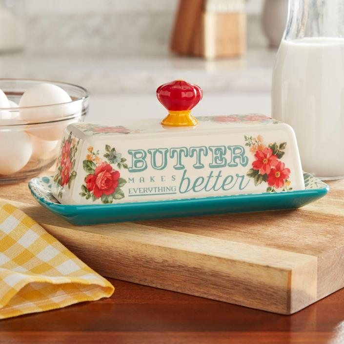 """<p>""""From my Granny: Add butter... and now add that much again."""" </p><p>— <a href=""""https://www.instagram.com/candiflynn/"""" rel=""""nofollow noopener"""" target=""""_blank"""" data-ylk=""""slk:@candiflynn"""" class=""""link rapid-noclick-resp"""">@candiflynn</a></p>"""