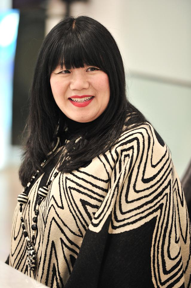 TORONTO, ON - SEPTEMBER 30:  Designer Anna Sui makes an appearance at Sears, Yonge & Dundas on September 30, 2011 in Toronto, Canada.  (Photo by George Pimentel/WireImage)