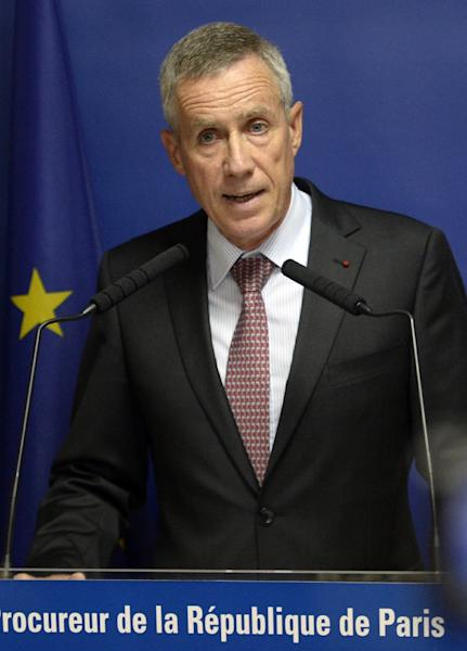 Paris chief prosecutor Francois Molins delivers a speech on August 25, 2015 during a press conference concerning Ayoub El-Khazzani, the suspect in August 21's Thalys train attack (AFP Photo/Miguel Medina)
