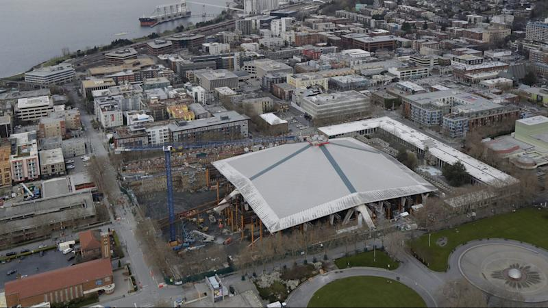 NHL Seattle arena reopening, team name reveal delayed