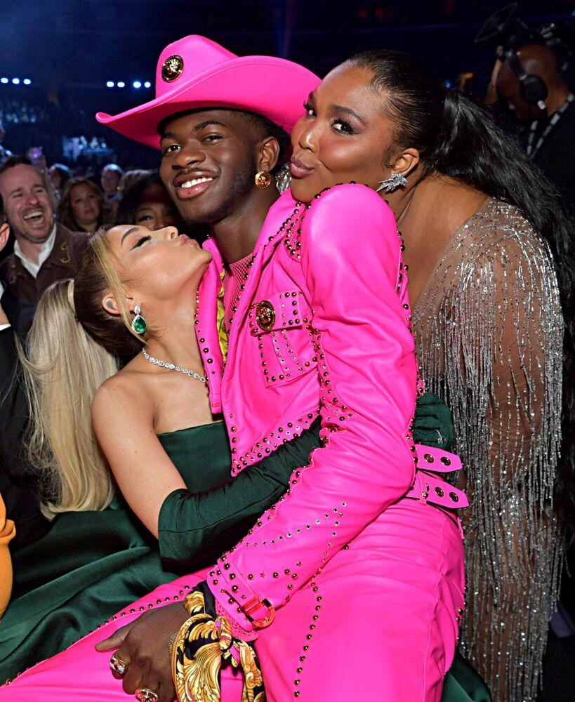 Ariana Grande, Lil Nas X and Lizzo | Emma McIntyre/Getty Images
