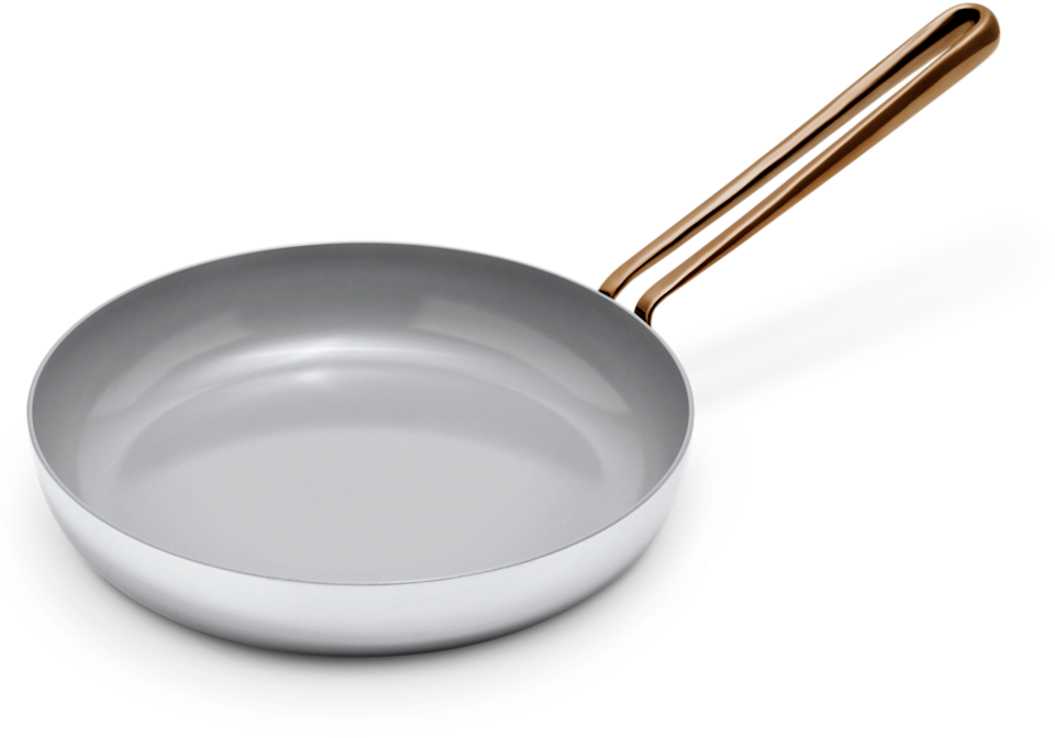 """<h2>Large Fry</h2><br>A do-all, nonstick frying pan made of non-toxic ceramic coating. Ideal for eggs, stirfry, bacon, and more. <br><br><strong>Great Jones</strong> Large Fry, $, available at <a href=""""https://go.skimresources.com/?id=30283X879131&url=https%3A%2F%2Fgreatjonesgoods.com%2Fproducts%2Flarge-fry"""" rel=""""nofollow noopener"""" target=""""_blank"""" data-ylk=""""slk:Great Jones"""" class=""""link rapid-noclick-resp"""">Great Jones</a>"""