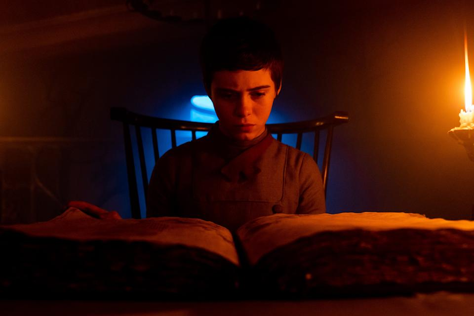 """""""It"""" actress Sophia Lillis plays a teen girl whose brother wanders into the home of a witch in """"Gretel & Hansel."""""""
