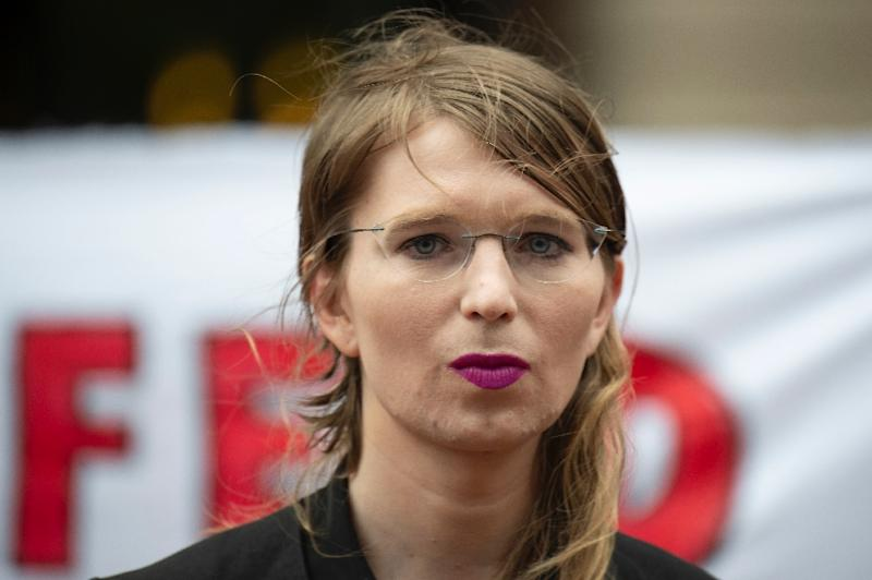 """Former military intelligence analyst Chelsea Manning was """"directed"""" by Julian Assange to leak classified materials, the US Justice Department says (AFP Photo/Eric BARADAT)"""