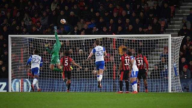 "<p>In a day of few shocks in the FA Cup's much anticipated third round games, Stoke City was the biggest of the big guns to fall out of the world's most famous cup competition.</p><p>Peterborough United and Rochdale came out as surprising winners, while Fleetwood Town and League Two side Mansfield Town also earned a replay against higher league opposition. </p><p>The early kick-off saw League one outfit <strong>Fleetwood</strong> earn a replay against Premier League side <a href=""http://www.90min.com/posts/5939538-fleetwood-town-0-0-leicester-city-courageous-cod-army-earn-fa-cup-replay-against-feeble-foxes"" rel=""nofollow noopener"" target=""_blank"" data-ylk=""slk:Leicester City"" class=""link rapid-noclick-resp"">Leicester City</a>as they drew 0-0 in what was a very dull affair at the Highbury Stadium.</p><p>In the days other early game <strong>Middlesbrough</strong> eased passed Championship strugglers <strong>Sunderland</strong> with goals on the day coming from Rudy Gestede and Martin Braithwaite in an easy 2-0 win at the Riverside Stadium.</p><p>An upset was on the cards in the only all Premier League tie of the third round, when the <strong>Burnley</strong> led at the break against <strong>Manchester City</strong> after an Ashley Barnes strike. However, all hope of an upset was killed as <a href=""http://www.90min.com/posts/5939684-man-city-4-1-burnley-aguero-s-dizzying-double-propels-city-to-victory-against-gritty-clarets"" rel=""nofollow noopener"" target=""_blank"" data-ylk=""slk:City came out firing in the second period"" class=""link rapid-noclick-resp"">City came out firing in the second period</a> and scored four goals, with Leroy Sane, Bernando Silva and Sergio Aguero (2) securing a 4-1 victory.</p><p>One of the most dramatic games of the day came at Villa Park, as League One side <strong>Peterborough </strong>scored three late goals against Championship outfit <strong>Aston Villa </strong>to win 3-1. </p><p>In a dramatic affair at the Vitality Stadium,<strong> Bournemouth</strong> saved their blushes after they went 2-0 down at home to League one leaders <strong>Wigan Athletic</strong>. However, goals from Lys Mousset and a late equalizer from Steve Cook meant that the Cherries earned a replay.</p><p>The biggest upset of the day came as League two side <strong>Coventry City</strong> beat Premier League side <strong>Stoke City</strong> 2-1 at the Ricoh Arena. Another League two side caused an upset as <strong>Yeovil</strong> <strong>Town</strong> beat League one side <strong>Bradford</strong> 2-0 at home, with goals on the day coming from Marcus Barnes and Jordan Green.</p><p>Struggling <strong>Rochdale</strong> surprised everyone by defeating <strong>Doncaster</strong> 1-0 away, with the Dale playing away from home. In another amazing game, <strong>Preston</strong> thrashed <strong>Wycombe Wanderers</strong> 5-1 at Adams Park, with former Manchester United man Josh Harrop scoring twice on the day.</p><p><strong>Sheffield United</strong> beat<strong> Ipswich Town</strong> 1-0 at Portman Road, and with a similar scoreline <strong>Birmingham City </strong>defeated <strong>Burton Albion </strong>at St.Andrew's.</p><p>There were no shocks with any of the other Premier League sides as <strong>Newcaslte United</strong> eased passed League two side <strong>Luton Town</strong> with a 3-1 victory, <strong>Watford</strong> defeated <strong>Bristol City</strong> 3-0, <strong>Southampton</strong> won 1-0 away at <strong>Fulham</strong> and <strong>Huddersfield</strong> beat <strong>Bolton Wanderers</strong> 2-1 at the Macron Stadium.</p><p><strong>West Brom</strong> got their first win under Alan Pardew with a 2-0 win away at <strong>Exeter City</strong>. In an all Championship affair, <strong>Millwall</strong> convincingly beat <strong>Barnsley</strong> 4-1. </p><p>League One side <strong>MK Dons</strong> beat Championship strugglers <strong>QPR</strong> 1-0 at Loftus Road, while League Two outfit <strong>Notts County</strong> won 1-0 away at <strong>Brentford</strong>. There was no shock at Ewood Park as <strong>Hull City </strong>won 1-0 against League one side <strong>Blackburn Rovers</strong>.</p><p><strong>Reading </strong>drew 0-0 with <strong>Stevenage</strong>, <strong>Carlisle United</strong> held on to a 0-0 draw against <strong>Sheffield Wednesday</strong>, <strong>Wolverhampton Wanderers </strong>drew at home to <strong>Swansea </strong>in a match that saw two red cards, one for either side. </p><p><strong>Cardiff City</strong>, meanwhile, drew 0-0 at home to <strong>Mansfield</strong>. </p>"