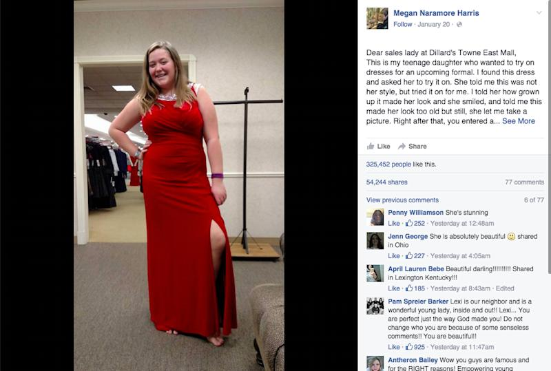 A Saleslady Told A Teen She Needed Spanx Her Mothers Response Is Epic