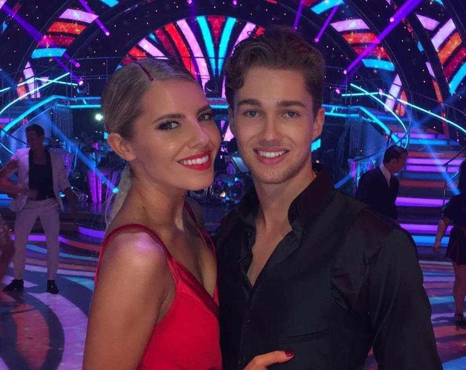 Mollie and AJ have been at the centre of romance rumours. Copyright: [BBC]