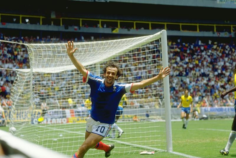 Michel Platini is regarded as one of the most gifted footballers of all time. (Credit: Getty Images)