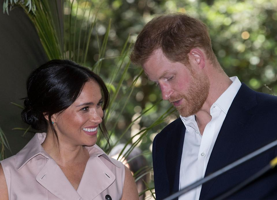 <p>Meghan and Harry have given a tell-all interview to Oprah Winfrey.</p> ((Photo by Laurence Griffiths/Getty Images))